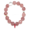 Rose Quartz Bracelet from Madagascar | Venusrox