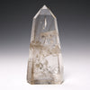 Smoky Phantom Quartz with Rutile Polished Point from Brazil | Venusrox