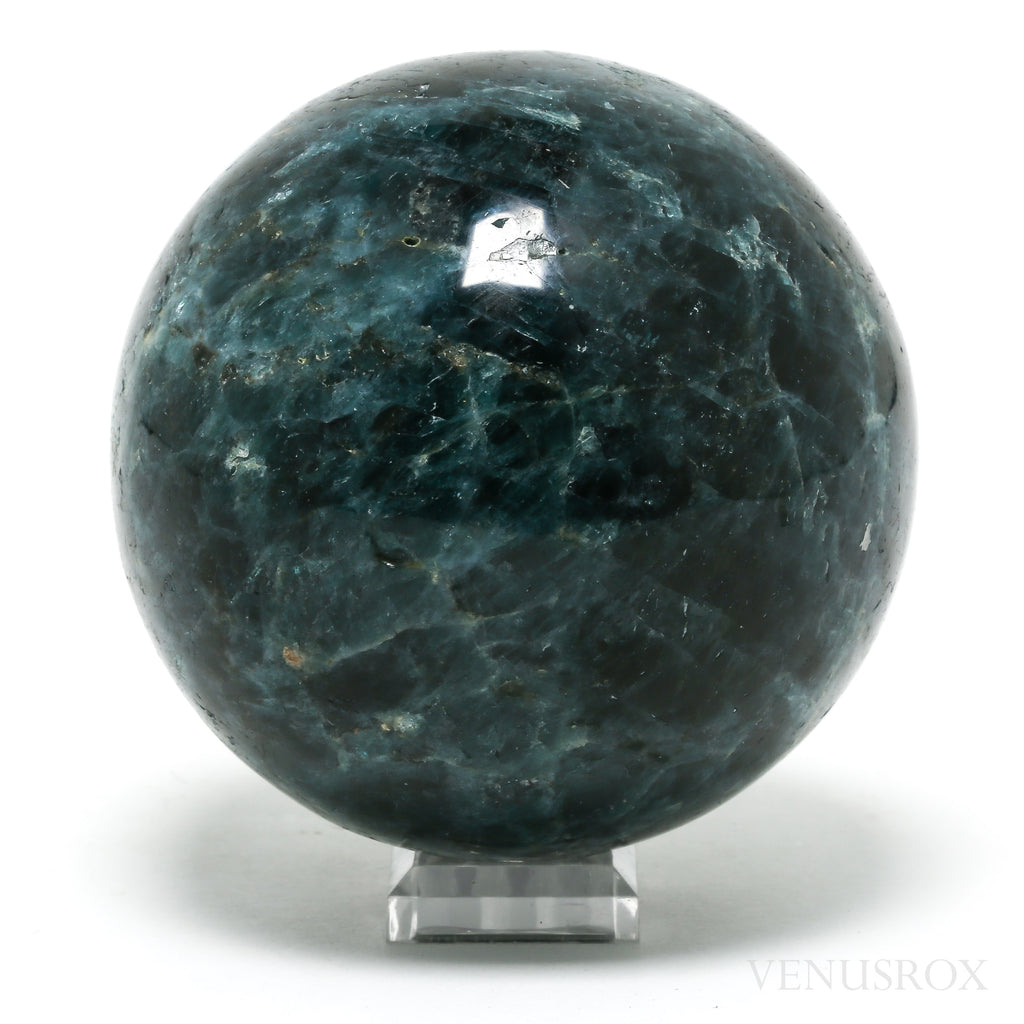Blue Apatite Polished Sphere from Madagascar | Venusrox