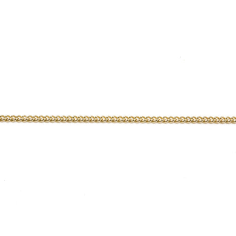 Gold Curb Chain (9ct Yellow Gold) (G16) - Venusrox