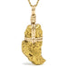 Gold Nugget (Natural) Pendant - Venusrox - 1