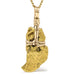 Gold Nugget (Natural) Pendant - Venusrox - 3
