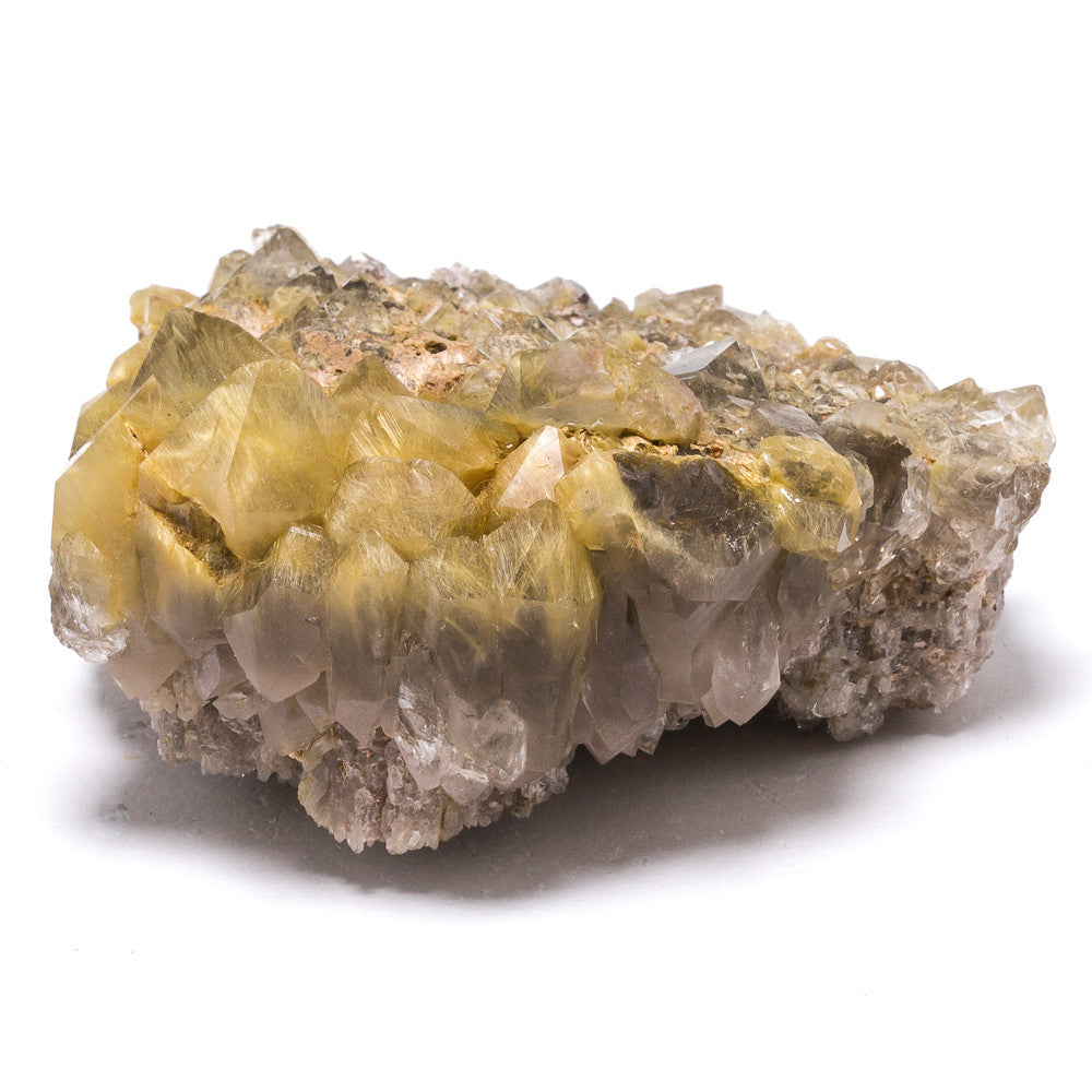 Quartz (Rutilated) Cluster - Venusrox - 2