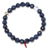 Dumortierite Faceted Bracelet - Venusrox - 2