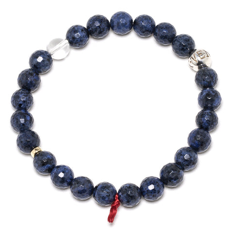 Dumortierite Faceted Bracelet - Venusrox - 1