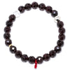 Garnet (Red) Faceted Bracelet - Venusrox - 1