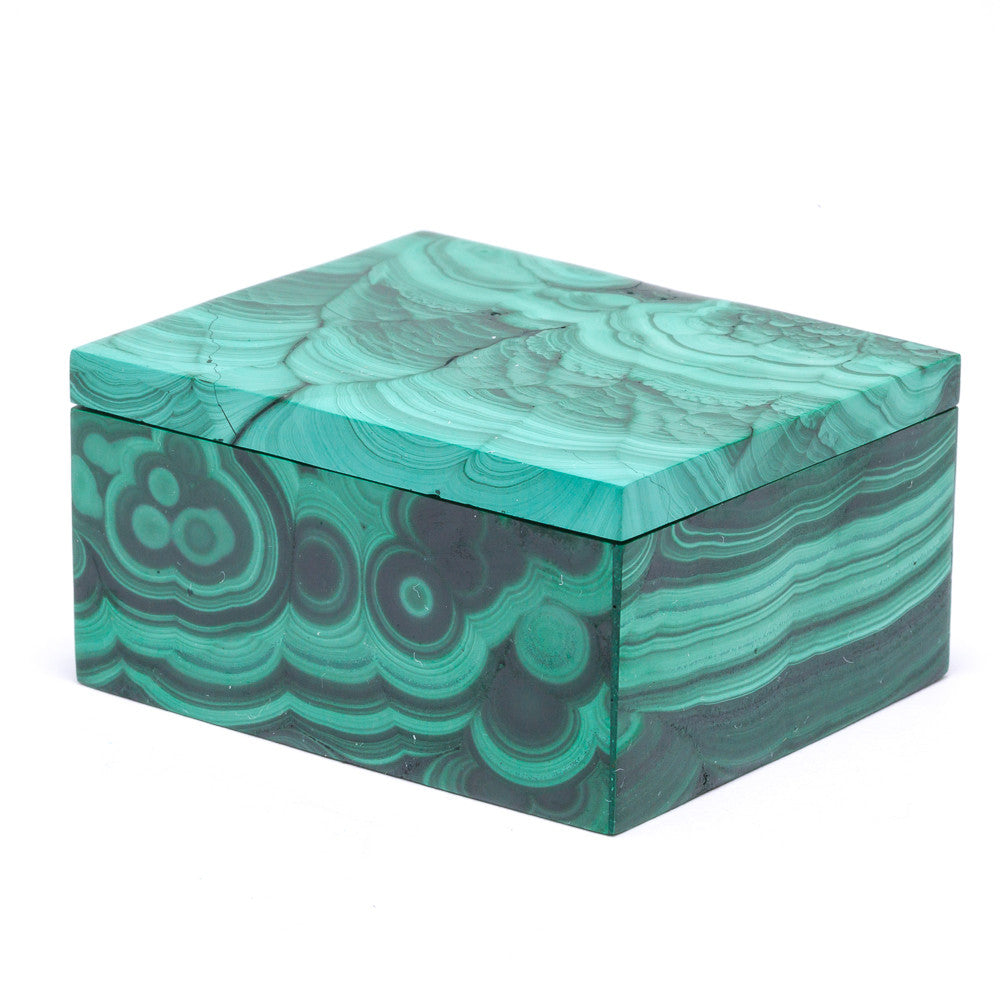 Malachite Polished Box - Venusrox - 3