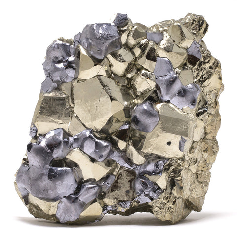 Pyrite and Galena Cluster - Venusrox - 1