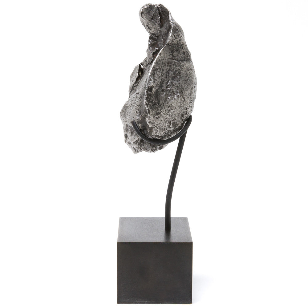 Meteorite (Sikhote Alin) Fragment with Bespoke Stand - Venusrox - 4