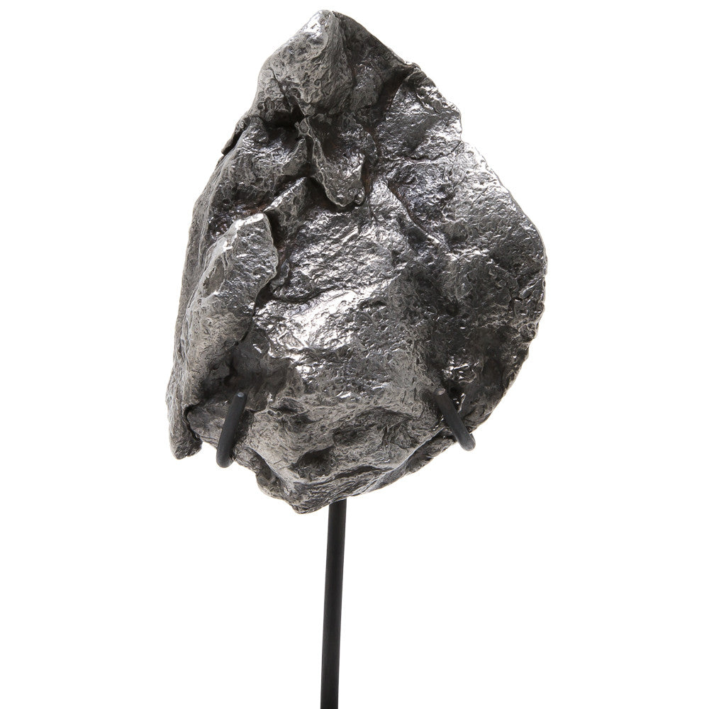 Meteorite (Sikhote Alin) Fragment with Bespoke Stand - Venusrox - 5
