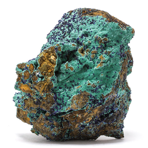 Azurite on Malachite Specimen - Venusrox - 1