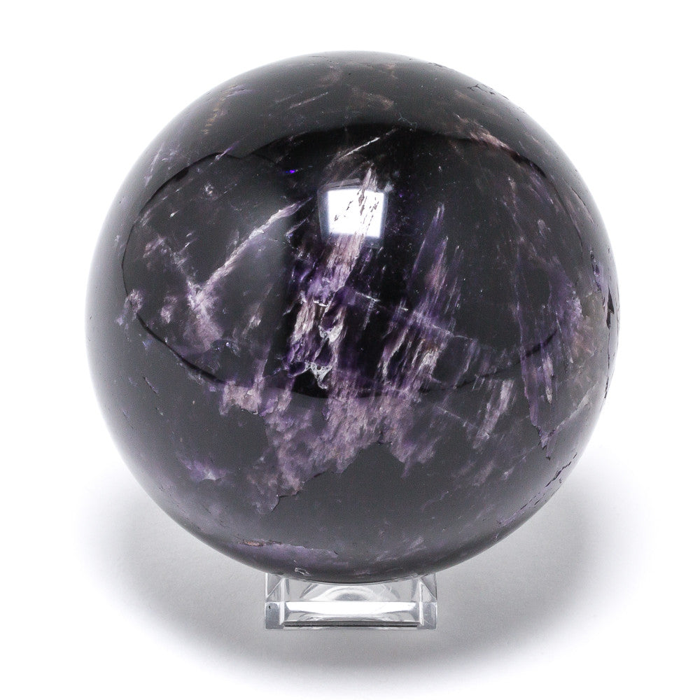 Amethyst with Cacoxenite Sphere from Brazil | Venusrox,