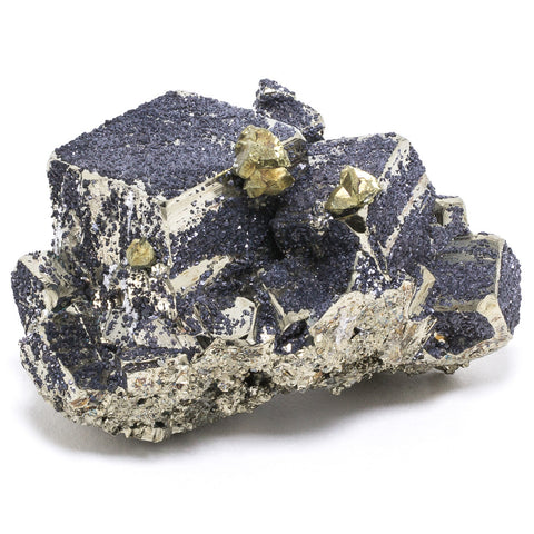 Pyrite with Chalcopyrite Cluster
