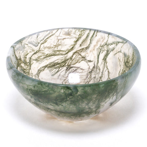 Agate (Moss) Bowl