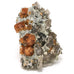 Garnet (Spessartine) with Smoky Quartz Natural Cluster
