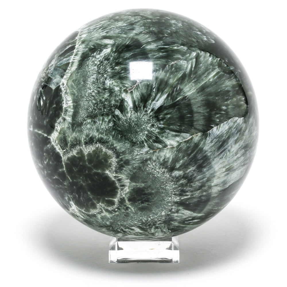 Seraphinite Sphere from Russia | Venusrox