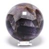 Amethyst Chevron Polished Sphere from India | Venusrox