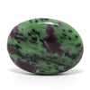 Ruby & Zoisite Polished Palmstone from India | Venusrox
