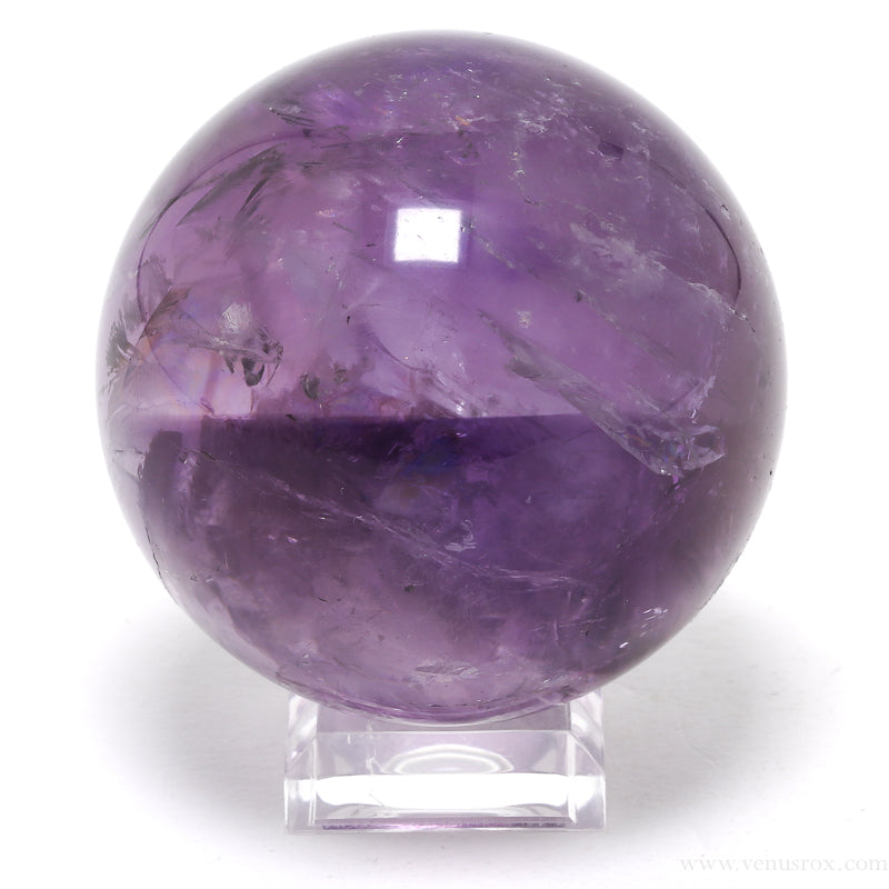 Amethyst Phantom Quartz Sphere from Brazil | Venusrox