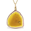 Pink & Yellow Tourmaline Pendant from Russia | Venusrox