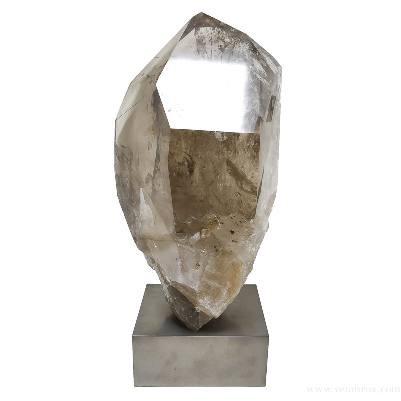 Rutilated Smoky Quartz Polished/Natural Point from Brazil | Venusrox
