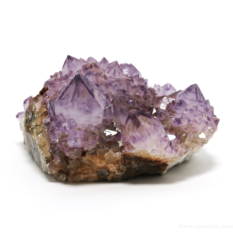 Amethyst Spirit Quartz Cluster from South Africa | Venusrox