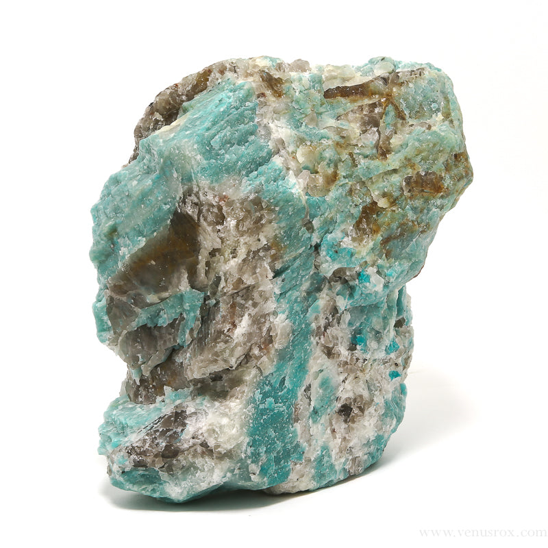 Graphic Amazonite Natural Crystal from Brazil | Venusrox