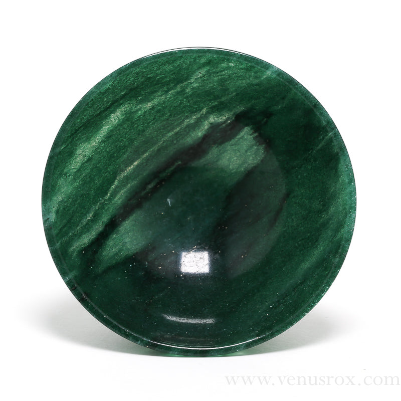 Green Aventurine Polished Bowl from India | Venusrox