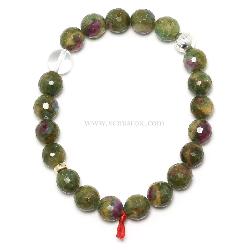 Ruby in Fuchsite Bracelet from India | Venusrox
