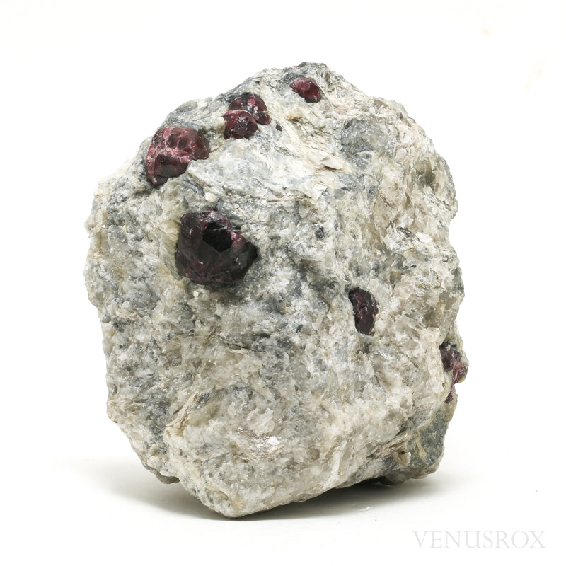 Almandine Garnet with Quartz & Mica Natural Crystal from Brazil | Venusrox