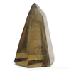 Smoky Quartz Part Polished/Part Natural Point from Brazil | Venusrox