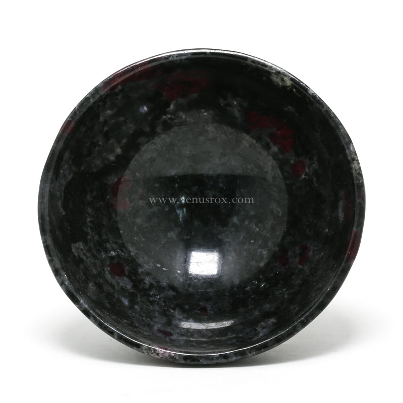 Ruby in Anorthosite Polished Bowl from India | Venusrox