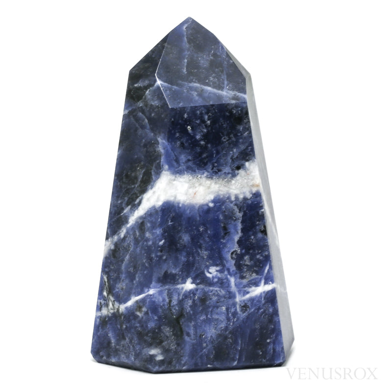 Sodalite Polished Point from Brazil | Venusrox
