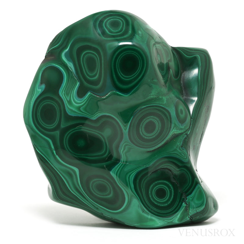 Malachite Polished Crystal from the Democratic Republic of Congo | Venusrox