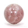 Rose Quartz Sphere from Madagascar | Venusrox