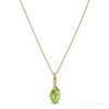Natural Peridot Crystal Pendant from Pakistan | Venusrox