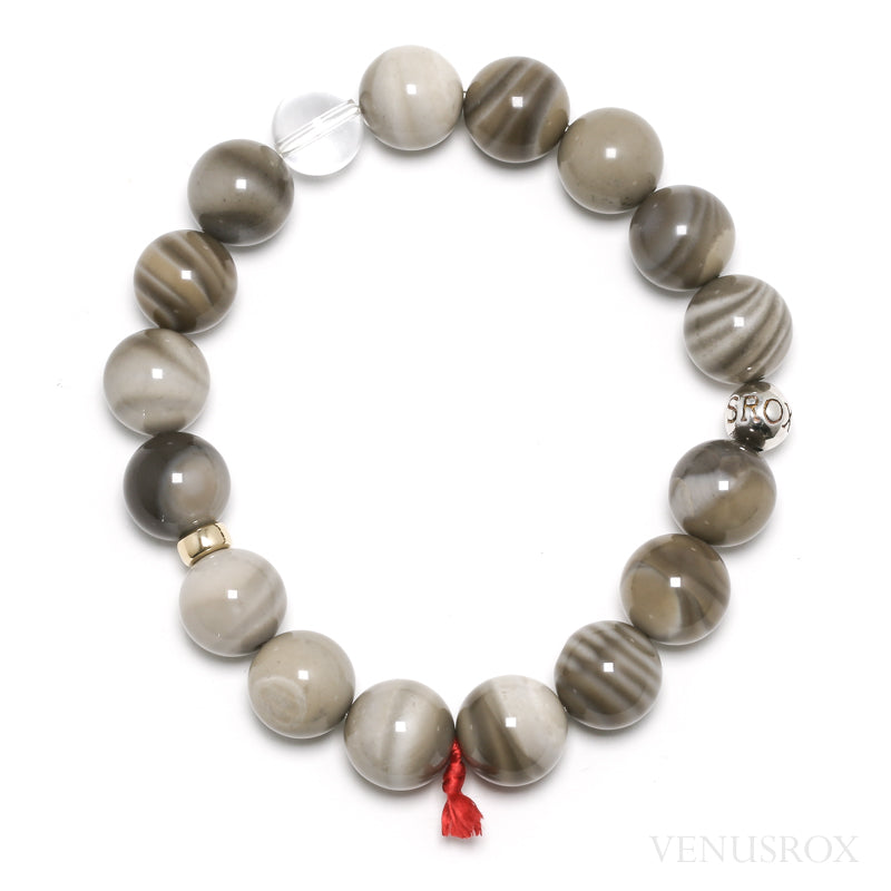 Flint Bead Bracelet from Poland | Venusrox