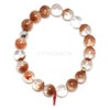Red Rutilated Quartz Bracelet from Brazil | Venusrox