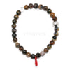 Dendritic Agate Bead Bracelet from Madagascar | Venusrox