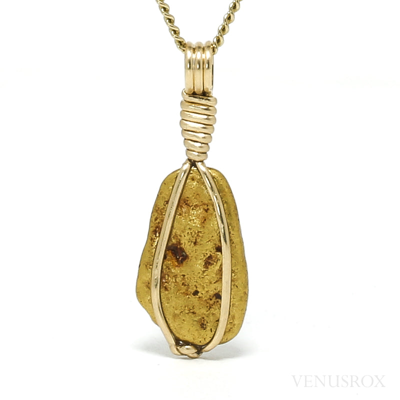 Natural Gold Nugget Pendant from the Yuba River, California, USA | Venusrox