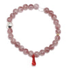 Strawberry Quartz Bracelet from Tanzania | Venusrox