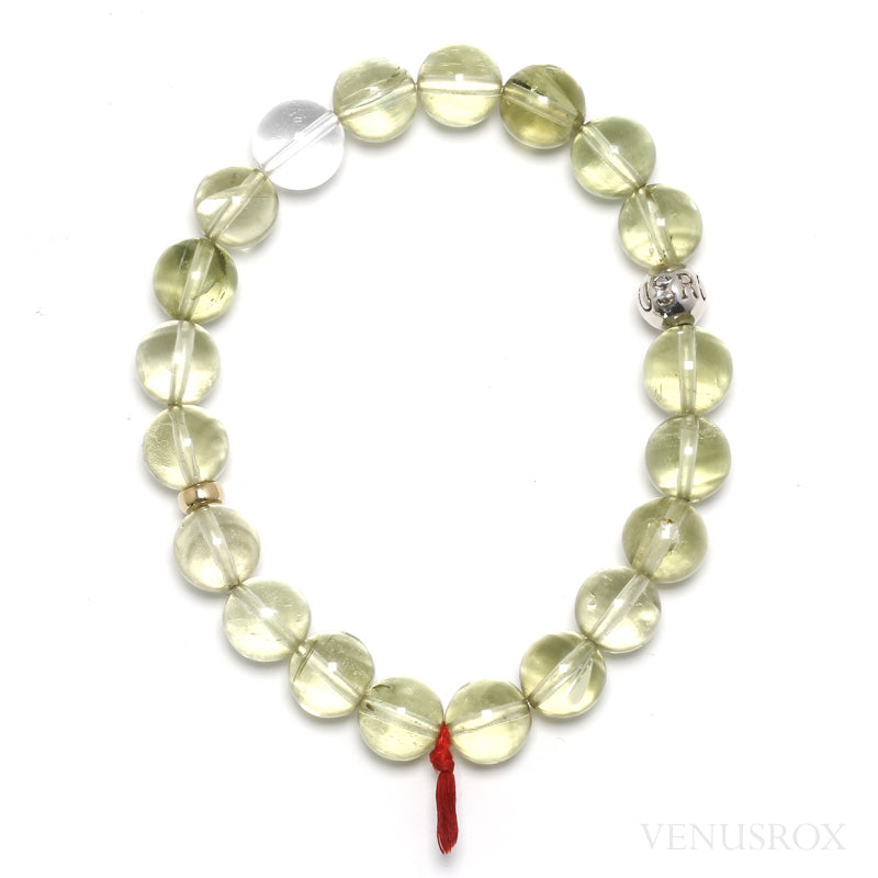 Hiddenite Bead Bracelet from Afghanistan | Venusrox