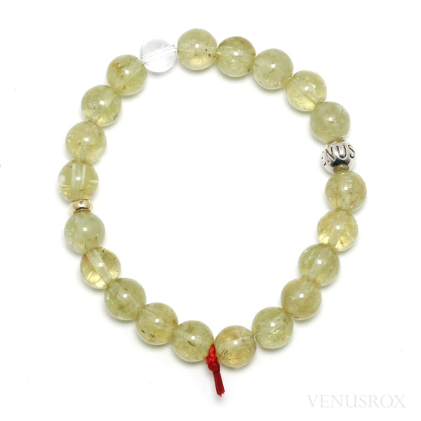 Golden Apatite Bead Bracelet from Mexico | Venusrox