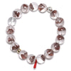 Red Phantom Quartz Bracelet from Brazil | Venusrox