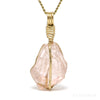 Morganite Natural Crystal Pendant from Nigeria | Venusrox