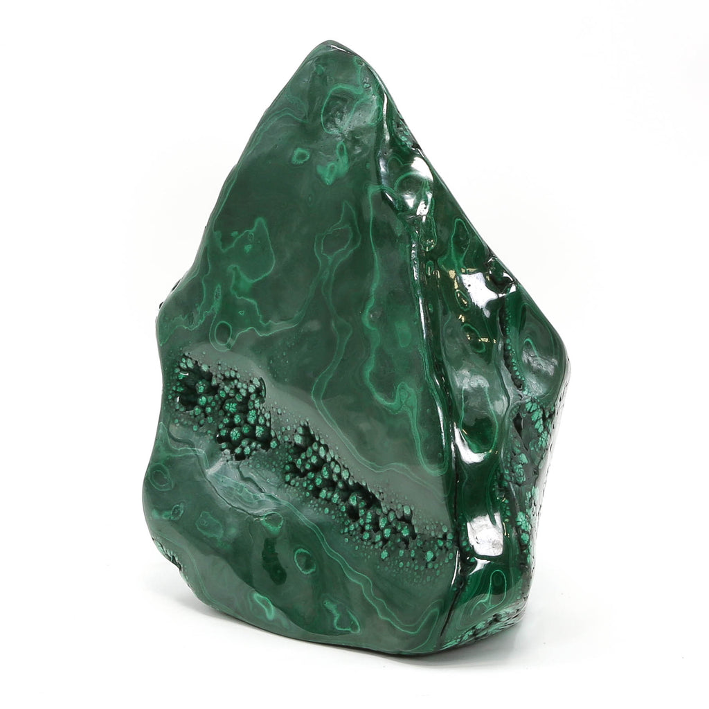 Malachite Polished Freeform from The Democratic Republic of Congo | Venusrox
