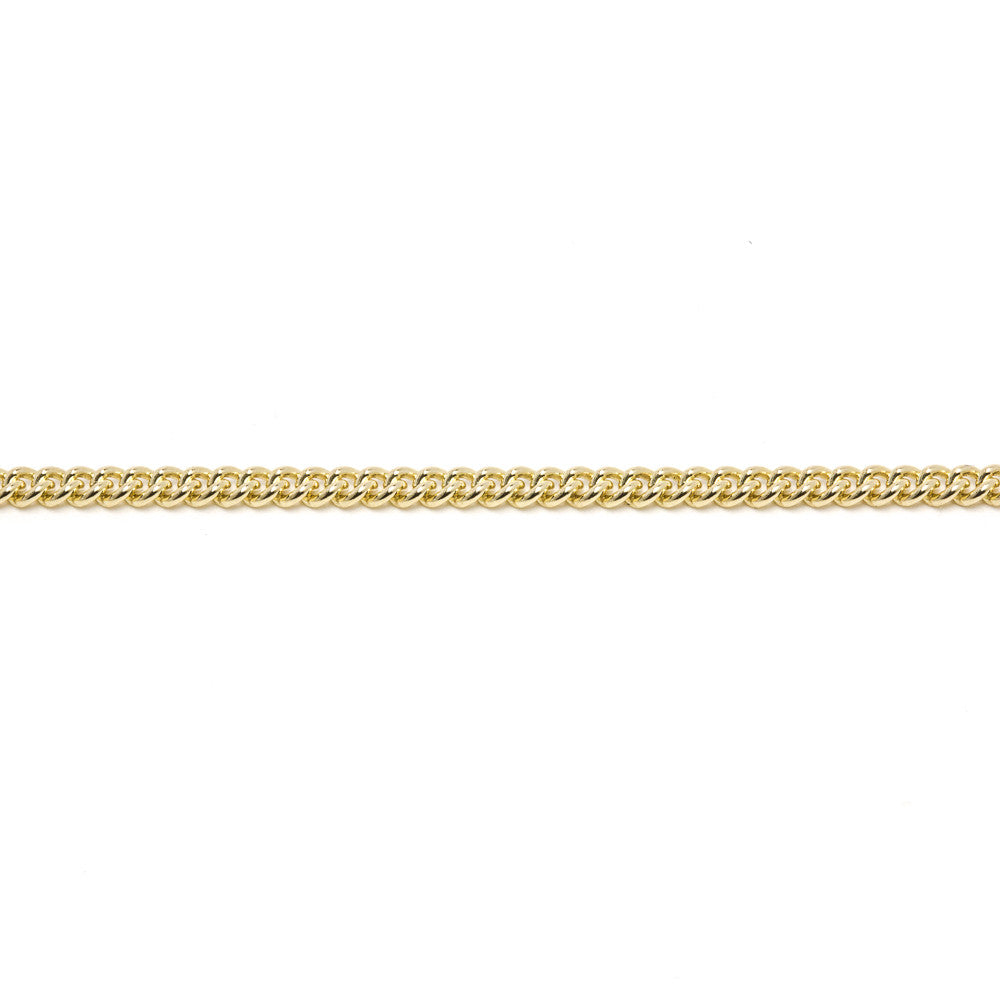 Gold Curb Chain (9ct Yellow Gold) (G24) - Venusrox