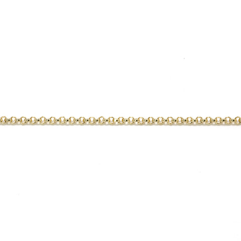Gold Baby Belcher Chain (9ct Yellow Gold) (GBBC) - Venusrox