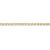 Gold Baby Belcher Light Chain (9ct Yellow Gold) (GBBL) - Venusrox