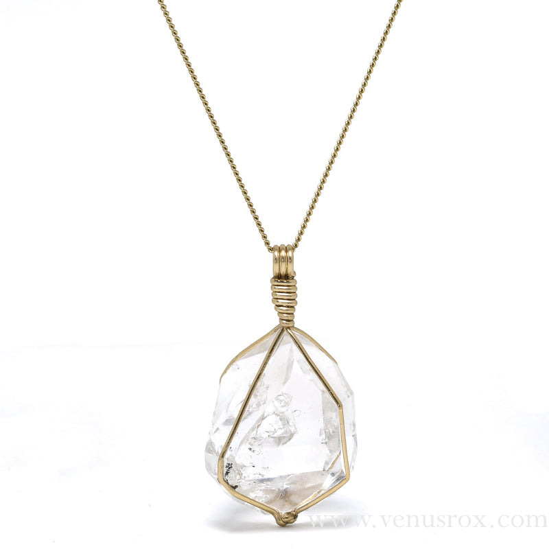 Herkimer 'Diamond' Quartz Pendant